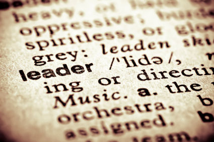 Leader dictionary picture